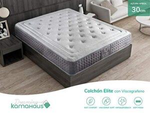 Dreaming Kamahaus Elite Colchón, con Viscografeno-Soft, 150x190