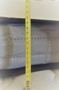 Camapolis-Colchón viscoelástico de  15 cms para cama 90x190cm, reversi...