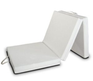 EvergreenWeb Futon Easy colchón, Plegable, Ahorro de Espacio, Plaza In...