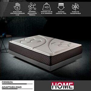 Komfortland by Home Colchón 105x200 viscoelástico Memory Vex Foam de A...