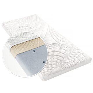 Alvi Colchón para minicuna - TENCEL® & Dry - 90 x 40 cm / Funda antihu...