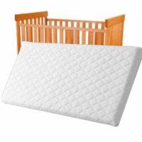 Colchón para cuna de bebé transpirable e impermeable para cuna o cuna ...