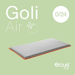 Ecus Kids Goli Air - Colchón de cuna de viaje, 120 x 60 cm