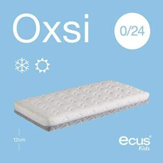 Ecus Kids OXSI, Colchón de cuna Oxígena HR con cremallera perimetral, ...