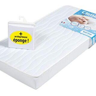 yoopidoo colchón para bebé 60x 120cm/toalla