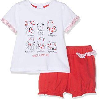 Chicco Completo T-Shirt Manica Corta + Pantaloncini, Conjunto de Ropa ...