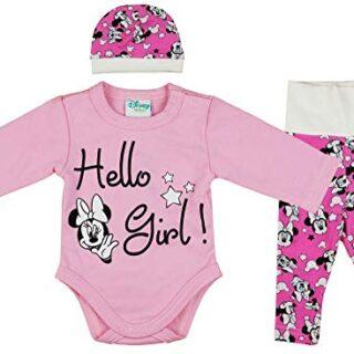 Disney Baby - Conjunto de Ropa de 3 Piezas para niña con Minnie Mouse ...