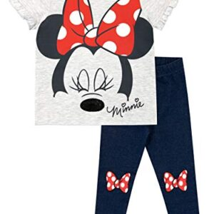 Disney Camiseta y Leggings para niñas Minnie Mouse Multicolor 4-5 Años