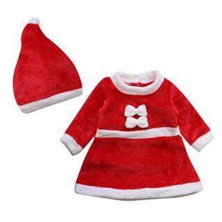 Le SSara Bebé invierno Navidad Cosplay vestido traje recién traje somb...