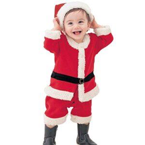 Odziezet Traje Navidad Santa Unisexo Bebe Disfraz Pantalones/Vertido +...