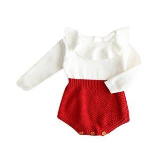 Ropa Newborn Baby Otoño Invierno, Zolimx Niños Niñas Bebé Punto Suéter...