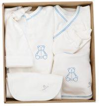 The Dida World Newborn - Conjunto recién nacido de algodón orgánico, 6...