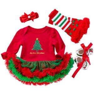 Vestidos Navidad Ropa Bebé Peleles Bebe Niña Monos Navidad Ropa 0-18 M...
