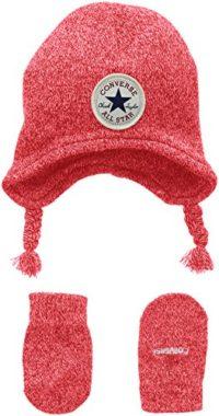 Converse Micro Fleece Set, Conjunto de Ropa para Bebés, Rojo (Red), ún...