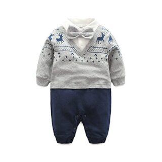 Fairy Baby - Mono - para bebé niño Navy Blue Deer