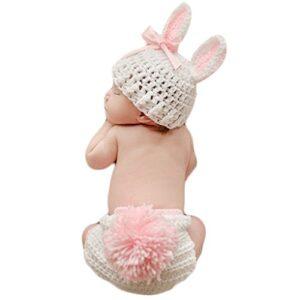 Mengonee Ropa de bebé de ganchillo lindo accesorios de la foto del beb...