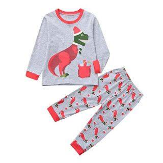 POLP Niño Ropa de Dormir Navidad Ropa niñas Unisex Pijama Bebe Niños n...