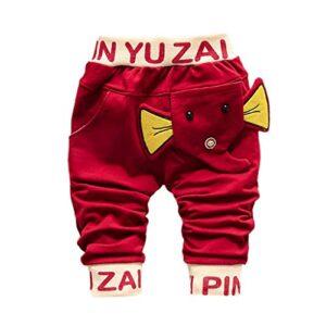 PinkLu Pantalones Harem De NiñOs TiburóN Gran Lengua Pantalones Bebé N...