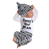 Ropa para niños bebés Conjunto, Tefamore Tops mameluco + pantalones ...