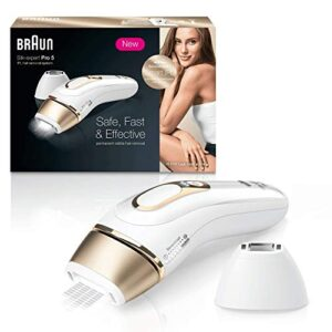 Braun Silk*Expert Pro 5 PL5137 Depiladora Luz Pulsada IPL, Última Gene...