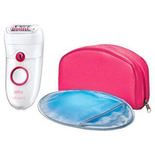 Braun Silk-épil 5 - Depiladora para mujer con 3 accesorios: masaje, gu...
