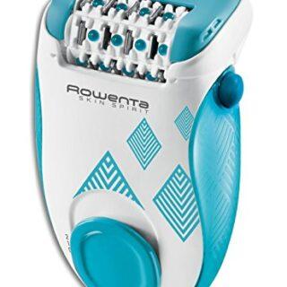 Rowenta Skin Spirit EP2910F0 - Depiladora de 2 velocidades con sistema...