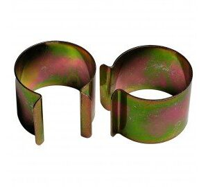 -20clips Metal revestimiento de cinc 30mm x 30mm para invernadero