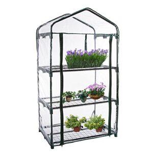 Cubierta de invernadero para plantas de PVC, accesorio de repuesto (el...