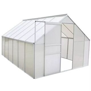 Festnight Invernadero Estructura de Aluminio 430 x 250 x 195 cm