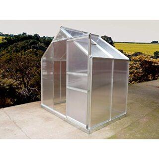 Gardiun KIS12138 - Invernadero de Aluminio 190x132x193 cm