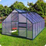 Slide & Grow Invernadero Gran Torino en Aluminio y policarbonato alveo...