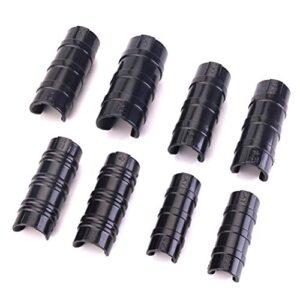 Yardwe 10 Piezas de broches de sujeción de Abrazadera de plástico ABS ...