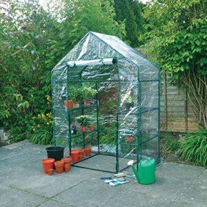Kingfisher Cubierta de Invernadero, Puede Acceder al Interior