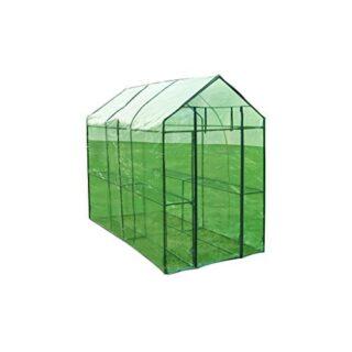 vidaXL Invernadero XL de Acero Caseta Cultivo de Plantas para Jardín T...