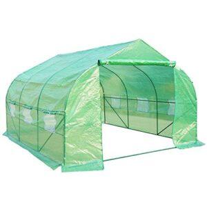 Outsunny Invernadero con mosquitera para Flores y Plantas - 3.5x3x2 m ...