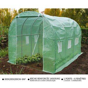 VOUNOT Invernaderos Jardin, Tunel Invernadero Huerto prar Plantas, Ubo...