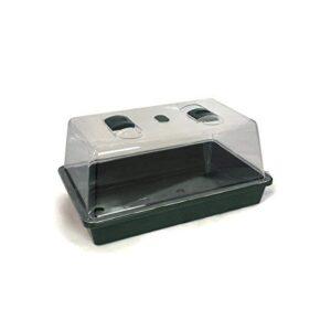 FLORATECK - Mini invernadero no-hemstedt - rígido dil - 38 x 25 x 18 c...