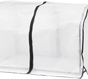 VegTrug SGFPE1136 - Marco y cubierta de invernadero, color blanco