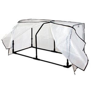 VegTrug swhfpe1150 Pequeño marco de invernadero Hugger y cubierta de P...