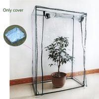 Yunhigh cubierta de plástico mini invernadero de interior para planta ...
