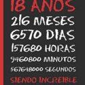 18 AÑOS SIENDO INCREIBLE: REGALO DE CUMPLEAÑOS ORIGINAL Y DIVERTIDO.  ...