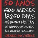 50 AÑOS SIENDO INCREIBLE: REGALO DE CUMPLEAÑOS ORIGINAL Y DIVERTIDO.  ...