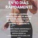 COMO PERDER 10 LIBRAS DE PESO EN 10 DÍAS RÁPIDAMENTE : APRENDE A QUEMA...