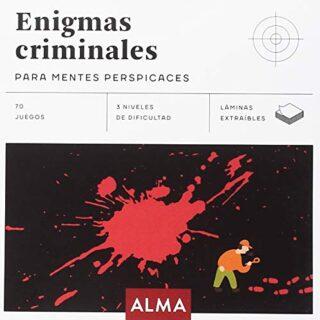 Enigmas criminales para mentes perspicaces: 25 (Cuadrados de diversión...