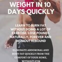 HOW TO LOSE 10 POUNDS OF WEIGHT IN 10 DAYS QUICKLY : LEARN TO BURN FAT...