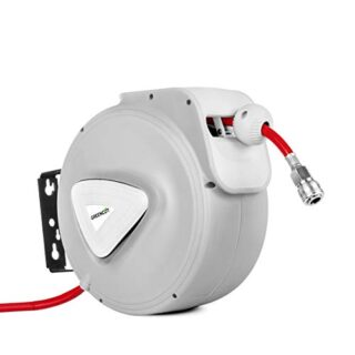 Greencut MNA100 - Enrollador automático de manguera de aire comprimido...