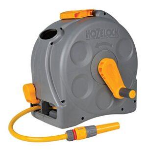 Hozelock - Carrete compacto Compact Reel con 25 m de manguera y todos ...