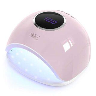 Abody Secador de Uñas 48W Lámpara Uñas UV Lámpara de Luz LED para Mani...
