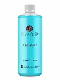 Cleaner 1000ml Azul - Aroma Coco para uñas de gel - Eliminar la capa p...