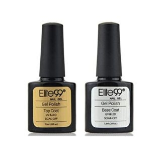 Elite99 Base y Top Coat Semipermentes, Esmaltes Semipermanentes de Uña...